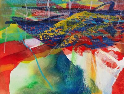 Gerhard Richter, 'Gebirge', 1984
