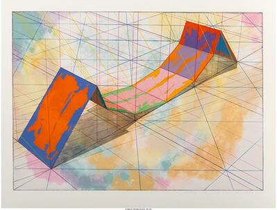 Ronald Davis, 'Invert Span, from the Snapline series', 1979