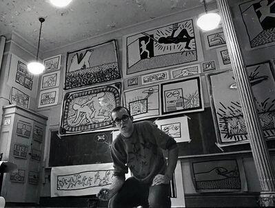 Keith Haring, 'Vintage Keith Haring photograph New York, 1980', 1980