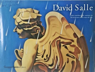 David Salle, 'David Salle at Guggenheim Bilbao (Signed)', 2000
