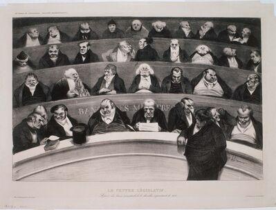 Honoré Daumier, 'Le Ventre Legislatif', 1834