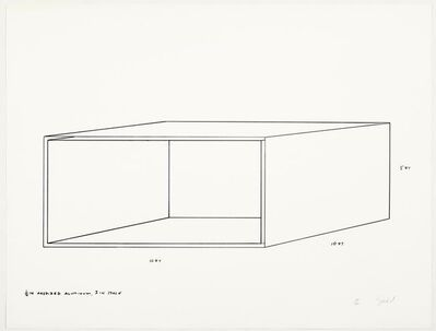 Donald Judd, 'Untitled', 1970