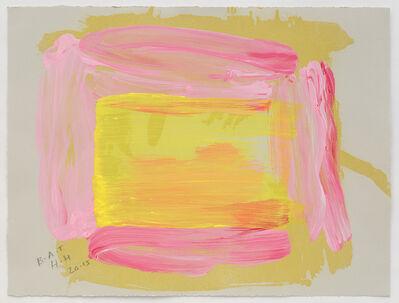 Howard Hodgkin, 'A Pale Reflection'