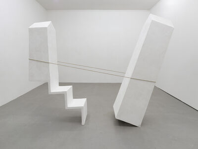 Inge Mahn, 'Balancierende Türme (Balancing Towers)', 1989