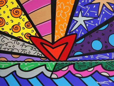 Romero Britto, 'New Love', 2016