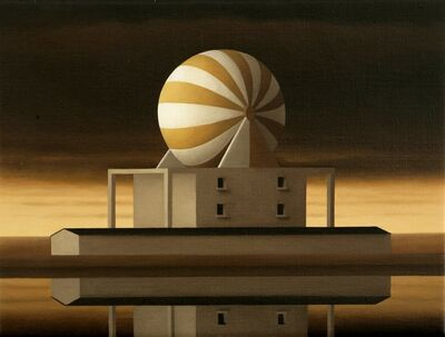 Renny Tait, 'Factory - Gold Ball', 2007