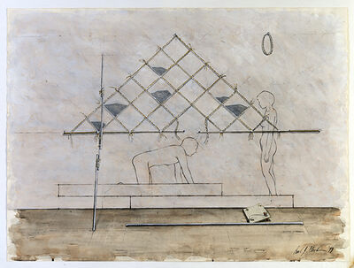 Carl Plackman, 'The Pendulum: Day and Night', 1979
