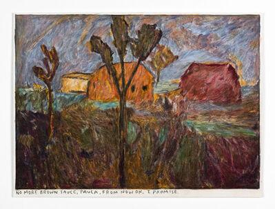 Rinus Van de Velde, 'No more brown sauce, Paula, ...', 2020