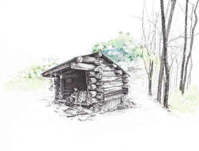 Sarah Kaizar, 'Cold Spring Shelter, North Carolina. [ 35.23109, -83.55996 ]', 2017