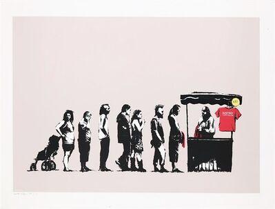 Banksy, 'Festival (Destroy Capitalism) Artist Proof', 2006