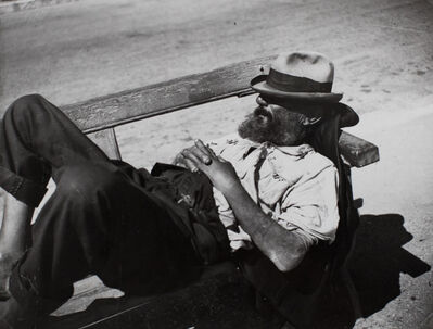 Brassai (Gyula Halasz), 'Tramp, Cannes', ca. 1932-34