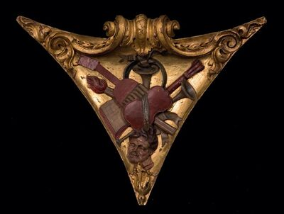 Alonso Berruguete, 'Pair of pendentives', 1525-1550
