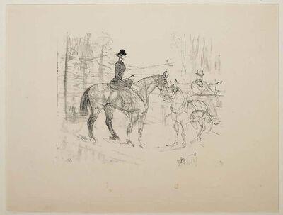 Henri de Toulouse-Lautrec, 'Amazone et Tonneau', 1948