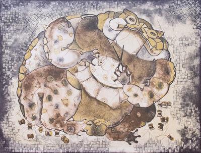 """Francisco Toledo, '""""El Sapo Que Se Enredó En Sus Hilos""""', 1970 -2000s"""