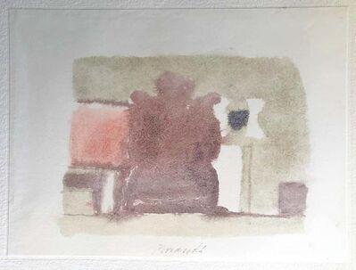 Giorgio Morandi, 'Grey Volumes with a Touch of Color', 1973