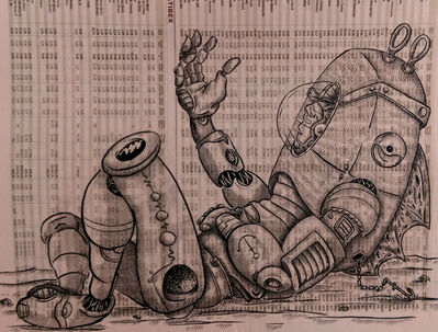 DEADBEATHERO, 'Spaceman with Ancor', 2016