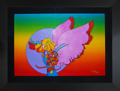 Peter Max, 'Angel', 1972