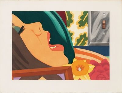 Tom Wesselmann, 'Bedroom face', 1977