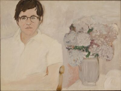 Jane Freilicher, 'Portrait of Kenneth Koch', ca. 1966