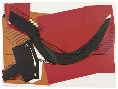 Andy Warhol, 'Hammer and Sickle: one plate', 1977