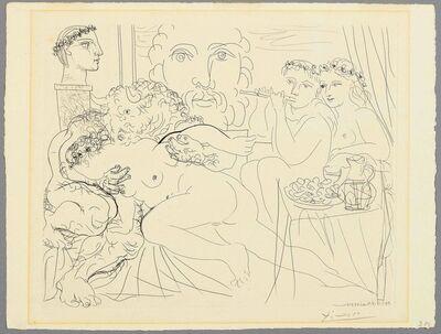 Pablo Picasso, 'Minotaure caressant une femme', 1933