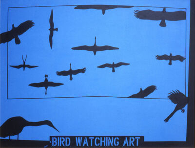 Mel Casas, 'Humanscape 95: Bird Watching Art', 1978