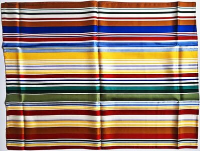 Kenneth Noland, 'Artist Designed Silk Scarf for the Whitney Museum', 1999