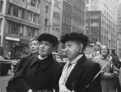 Lutz Dille, 'NYC', 1954
