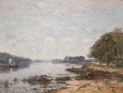 Louis-Aimé Japy, 'Paysage en bord de Seine'