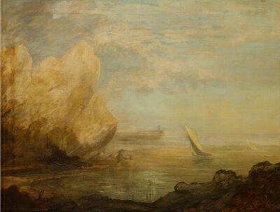 Thomas Gainsborough, 'A Costal Landscape', ca. 1780-1781