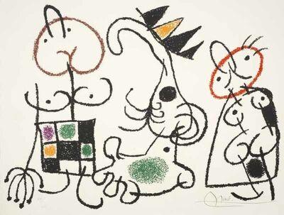 Joan Miró, 'Ubu aux Baleares Pl. 15 (Ubu of the Balearic Islands Pl. 15)', 1971