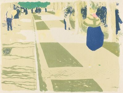 Édouard Vuillard, 'The Avenue (L'avenue)', 1899