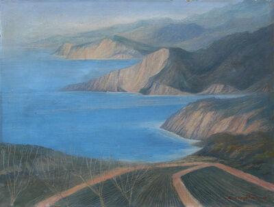 Carlos Orozco Romero, 'Sin título (Paisaje en azules)', s/f