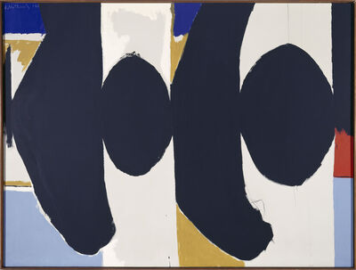 Robert Motherwell, 'Threatening Presence (Elegy to the Spanish Republic CIII)', 1965
