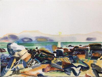 Bernard Chaet, 'Yellow Sun', 1989