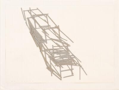 Tadashi Kawamata, 'Site plan 19', 1991