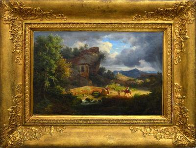 Károly Markó, Yr., 'Before the Storm', ca. 1850