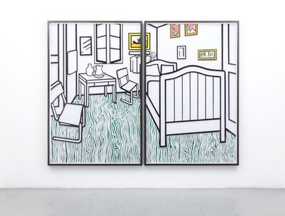 Jose Dávila, 'Untitled (Bedroom at Aries)', 2019