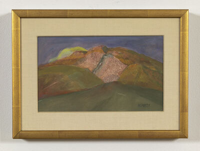 Charles Heaney, 'Untitled (Gold Landscape)', ca. mid century