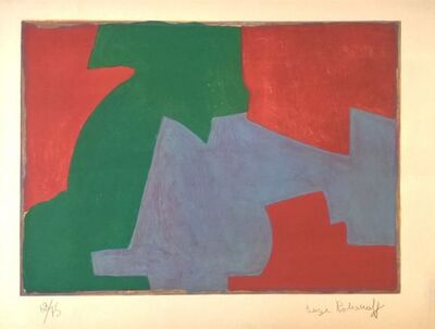 Serge Poliakoff, 'Composition in green, blue and red ', 1965