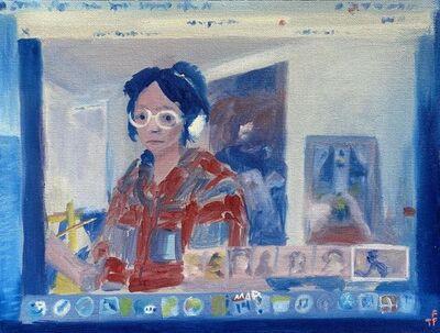 Frog The Parhelia, 'Self Portrait in Google Hangouts', 2020