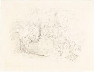 Sir John Everett Millais, 'Lovers under a Tree', 1840
