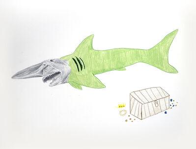 Andres Layos, 'El tiburón duende y su tesoro', 2018