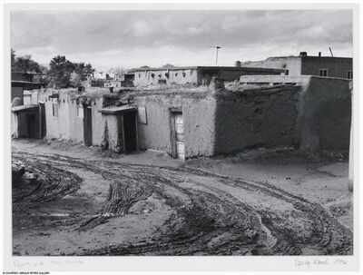 Nancy Wood, 'North Side, Taos Pueblo', 1986