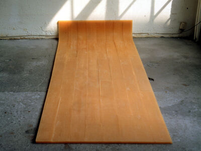 Rachel Whiteread, 'Untitled (Amber Floor)', 1993