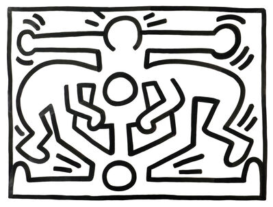 Keith Haring, 'Untitled (Growing)', 1987
