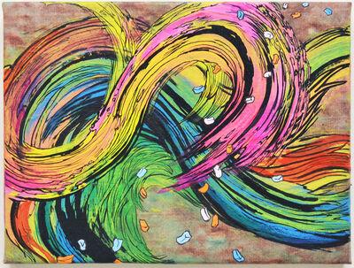 Jiha Moon, 'Yellowave (rainbow)', 2020