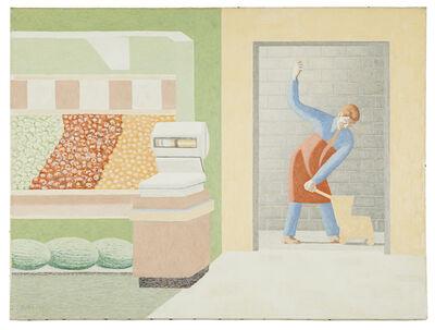 David Byrd, 'Mop Wringing', 1973