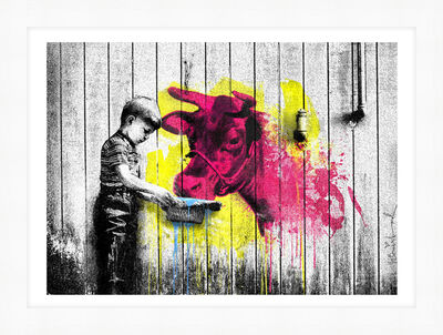 Mr. Brainwash, 'You Get What You Give', 2020