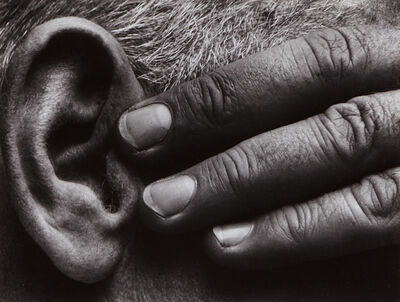 Brett Weston, 'Untitled (Hand and Ear of Ramiel McGehee)', 1929